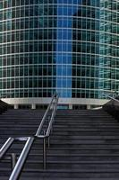 staircase to office building photo
