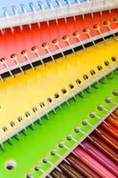 lapices de colores foto