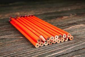 Rustic pencils photo