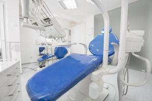 Modern dental office interior