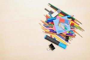 School and office supplies photo