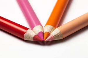 multicolored pencils photo