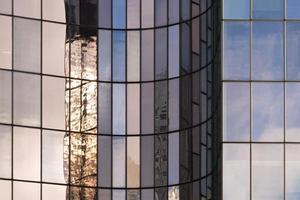 Light effects in La Défense