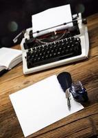máquina de escribir foto