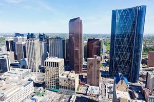 Panorama of Calgary photo