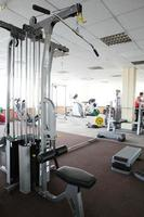 modern european sport gym without people