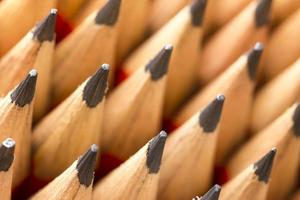 Pencils closeup photo