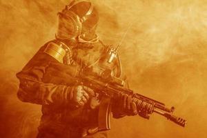 operador de las fuerzas especiales rusas foto