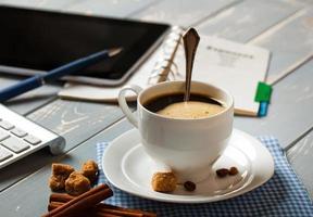 Black coffee photo