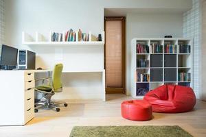 alojamiento elegante de habitación foto