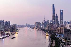 Shanghai City scenery photo