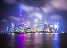 Shanghai Skyline photo