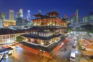 Buddha Tooth Relic Temple in Chinatown, Singapore - photo