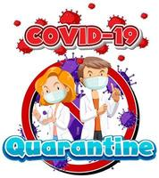 Poster Design for Coronavirus Quarantine