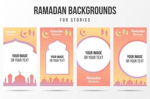 histórias de redes sociais para ramadan kareem