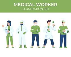 Medical Worker Character Set