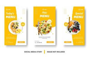Food menu banner  vector