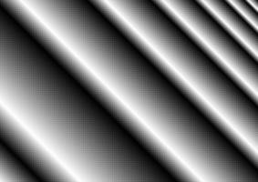 Monochrome halftone dot line vector