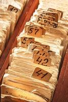 Archive file folders photo