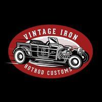 Custom hot rod emblem