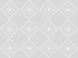 Abstract Grey Concentric Geometric Shape Pattern