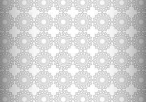 Modern Gray Mandala Pattern