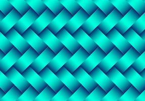 Modern Green 3D Metallic Woven Pattern