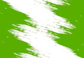 Abstract Green Brushstroke Design