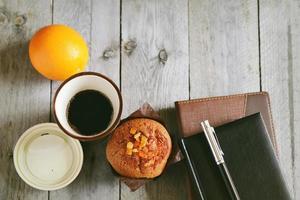 Coffee break at work photo