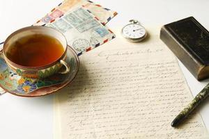 correspondencia antigua
