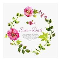 Vivid Floral Marsala Wreath