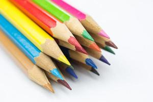lápices de colores foto
