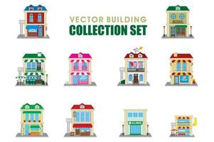 Vector Building Collection Set