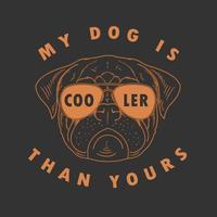 Pug with Sunglasses Design