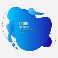 Blue Fluid Color Background