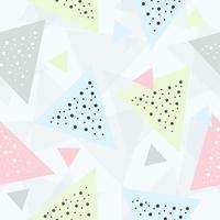 triángulo pastel abstracto