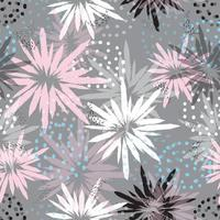 Pastel Floral Abstract Pattern