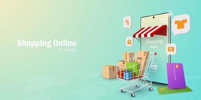 concepto de marketing digital vector