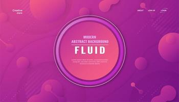 Modern abstract background in fluid style.