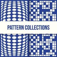 Cuadros de moda 3d y diseños de patrones en forma de círculo
