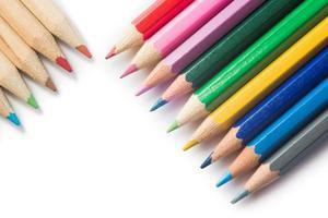kleurrijke kleurpotloden