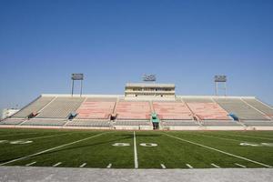 detalle del campo de fútbol americano foto