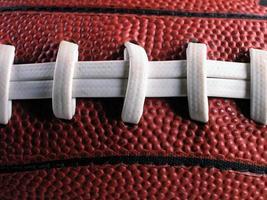 Football Laces-Close photo