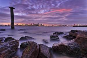 sydney cbd bradley columnng rocas foto