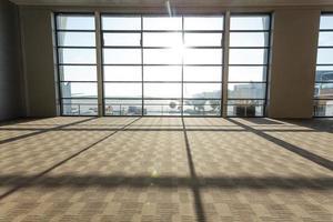 airport corridor interior