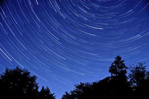 senderos de estrellas foto