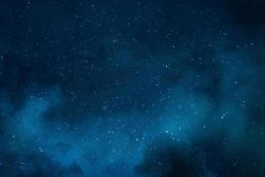Star field nebula photo