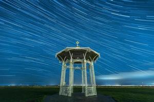 Bandstand Star Trail photo