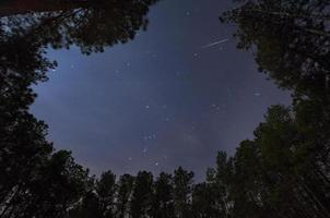 meteorito gemínido foto