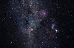 campo de estrellas de la vía láctea